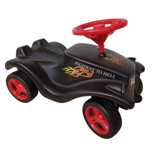 AC/DC (Highway to hell) Bobby Car mit Aufdruck in multicolor auf Metal-Kids Markenware