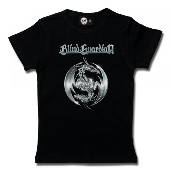 Blind Guardian (Silverdragon) Girly Shirt mit Aufdruck in multicolor auf Metal-Kids Markenware
