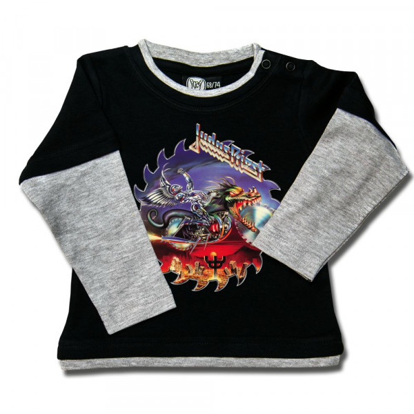Judas Priest (Painkiller) Baby Skater Shirt mit Aufdruck in multicolor auf Metal-Kids Markenware