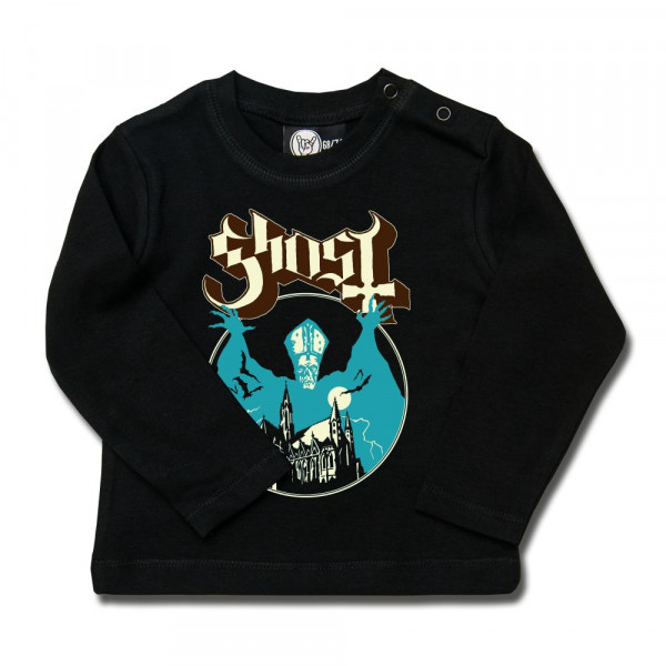 Ghost (Opus) Baby Longsleeve mit Aufdruck in multicolor auf Metal-Kids Markenware