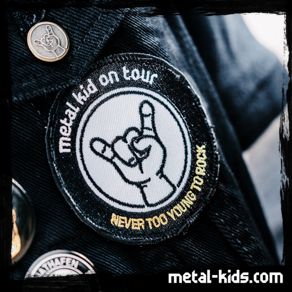 Metal-Kids Hand - Patch