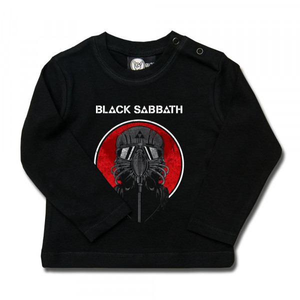 Black Sabbath (2014) Baby Longsleeve mit Aufdruck in multicolor auf Metal-Kids Markenware