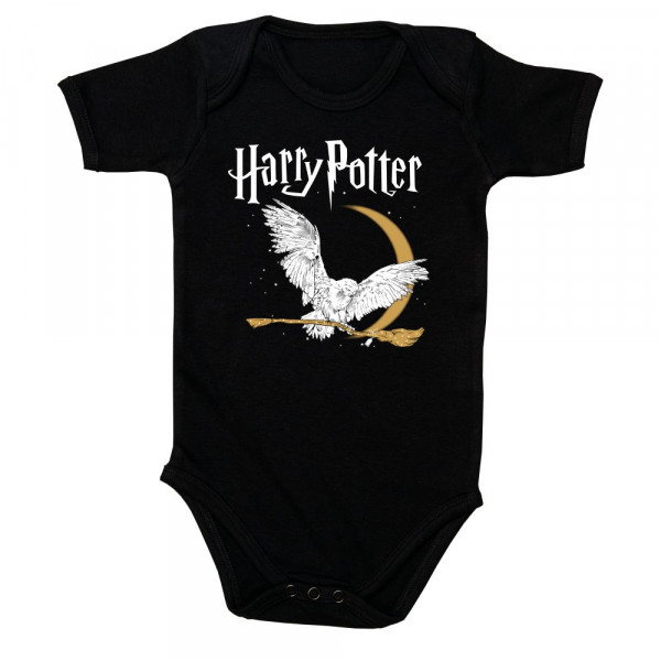 Harry Potter (Hedwig) Baby Body mit Aufdruck in multicolor auf Kids-Fanshop Markenware