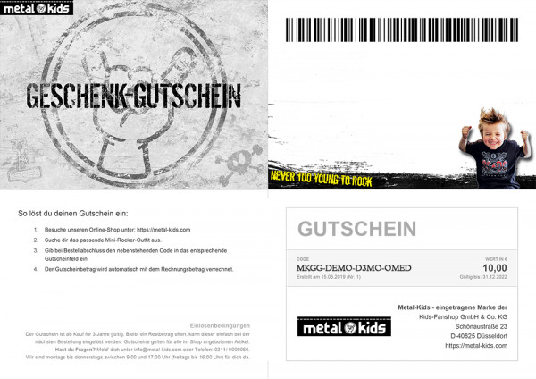 Gift-Voucher (light devilhorns)