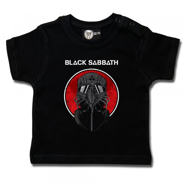 Black Sabbath (2014) Baby T-Shirt mit Aufdruck in multicolor auf Metal-Kids Markenware