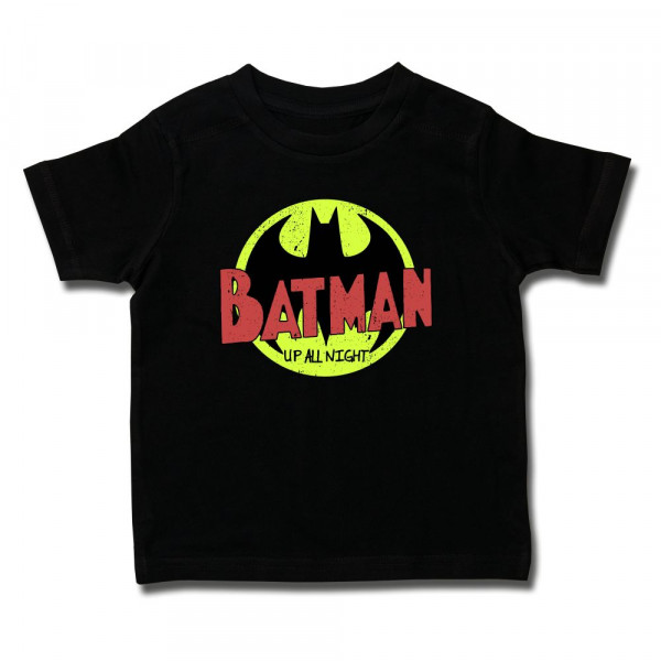 Batman (Up All Night) Kids T-Shirt mit Aufdruck in multicolor auf Kids-Fanshop Markenware