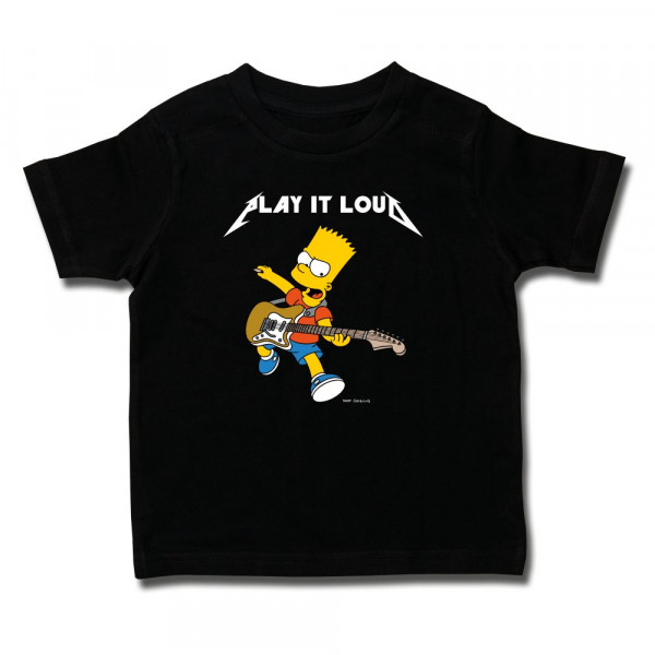 The Simpsons (Play it Loud) Kids T-Shirt mit Aufdruck in multicolor auf Kids-Fanshop Markenware