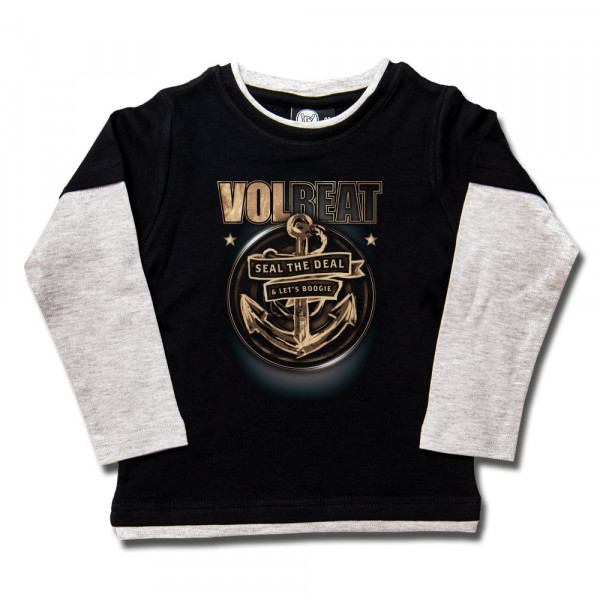 Volbeat (Anchor) Kids Skater Shirt mit Aufdruck in multicolor auf Metal-Kids Markenware