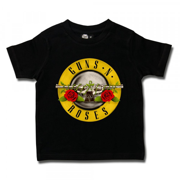 Guns 'n Roses (Bullet') Kids T-Shirt mit Aufdruck in multicolor auf Metal-Kids Markenware