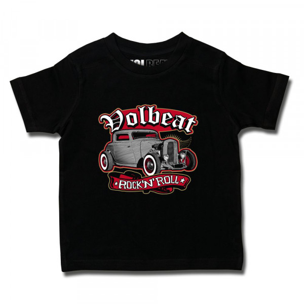Volbeat (Rock 'n Roll) Kids T-Shirt mit Aufdruck in multicolor auf Metal-Kids Markenware